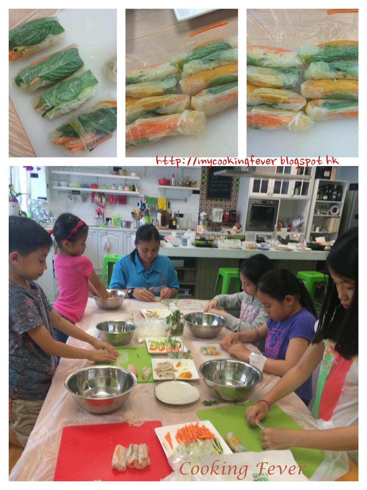 Vietnamese Mango & Pork Rice Roll