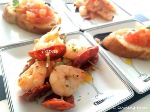 Tapas Platter - Spanish C