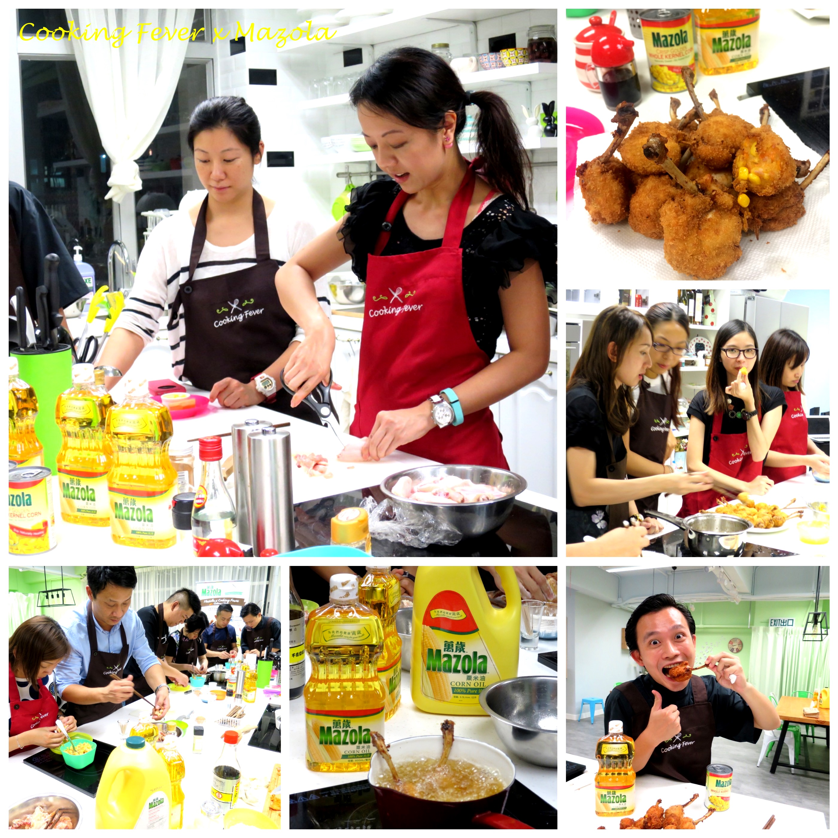 Mazola Cooking Class 2015