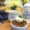 Pecan, Honey, Ginger & Apple Crumble with Vanilla Ice-cream