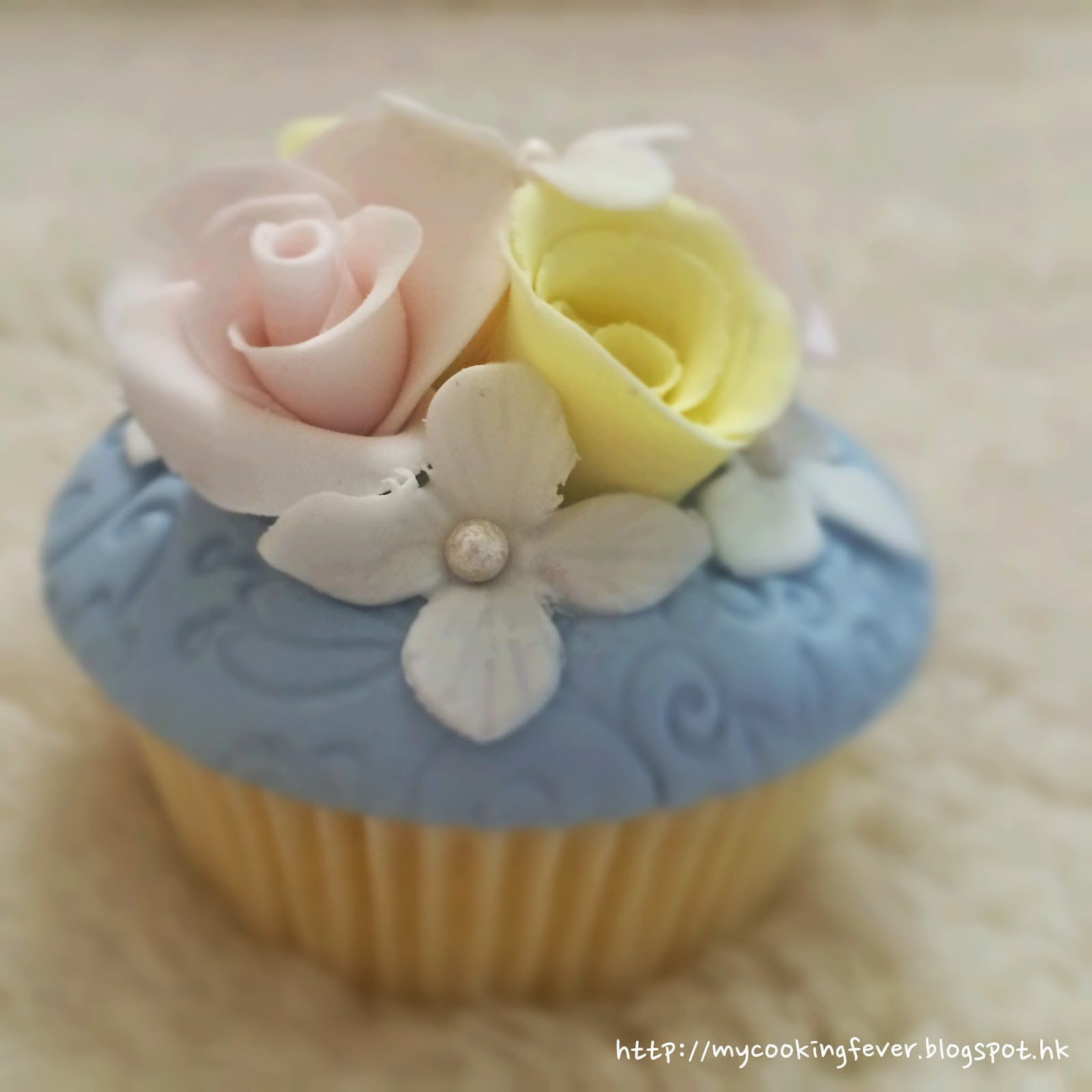 Flower Cupecake