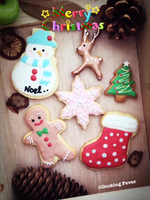 Christmas ICing Cookies