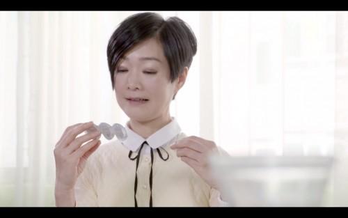 譚玉英姐姐拍攝博士倫廣告