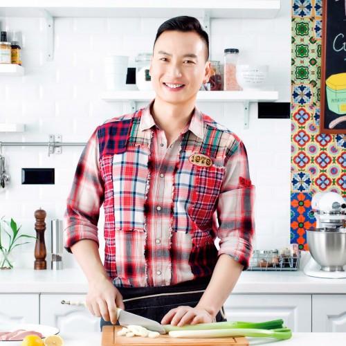 星級名廚 Jacky Yu 拍攝博士倫廣告