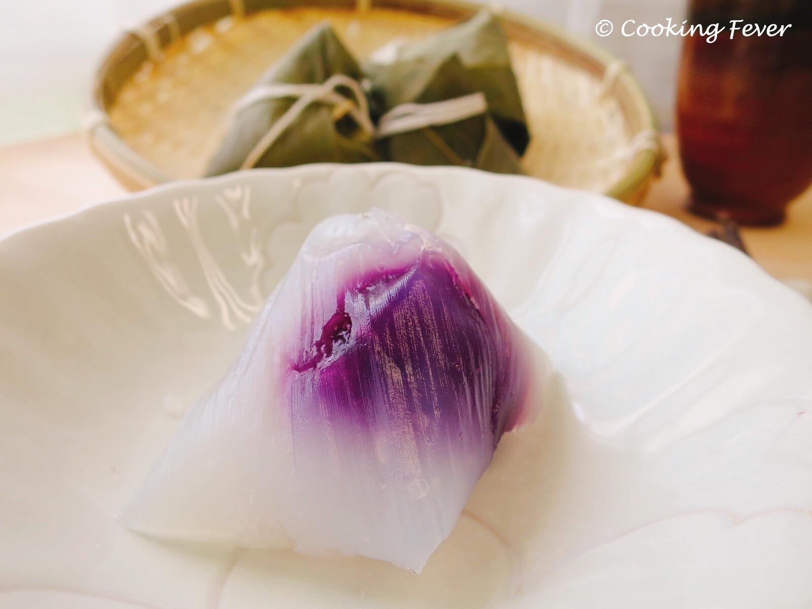Sweet Purple Potato Ice Dumpling
