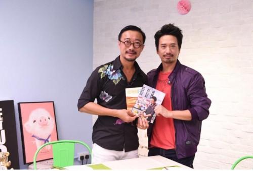 康宏集團主席王利民 與 Iron Man 郭偉亮為
