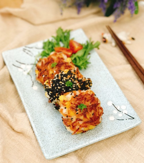 Pan Fried Sakura Sesame S