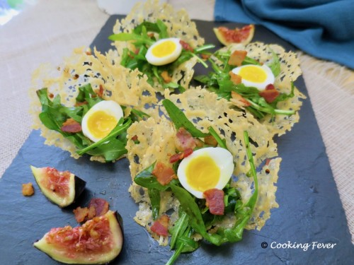 Crispy Bacon Quail Egg Pa