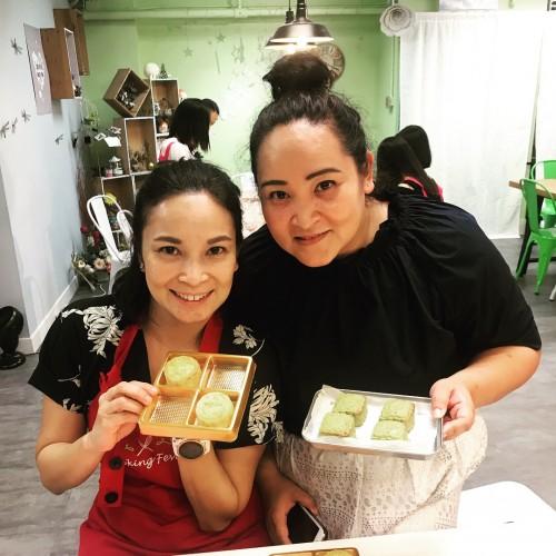 Custard Pastry Mooncake