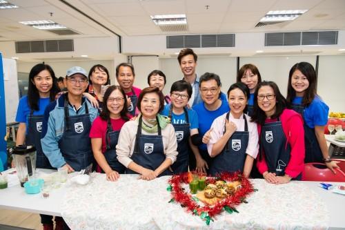 Philips x 聖雅各福群會 有營健康烹飪示範
