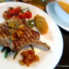 Pan Seared Canadian Pork Rack with Apple Sauce, Sweet potato Puree (Westerm Cooking Class)