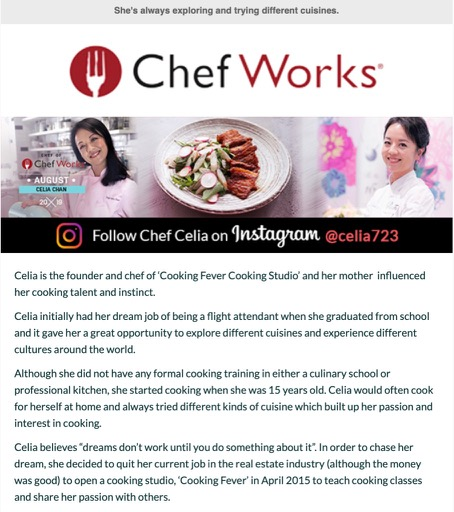 Chef Work : Chef of the M