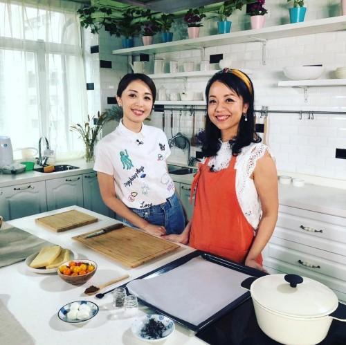 拍攝香港開電視全新烹飪節目《30分鐘大放餸》
