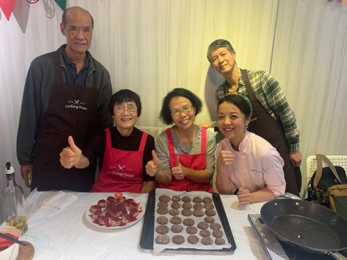 Skypost  X Nestle Christmas Healthy Cooking Class