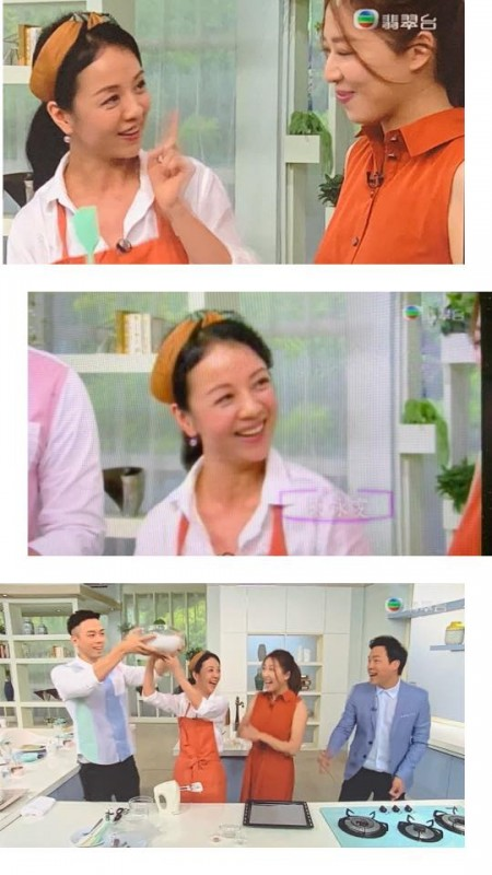 TVB 翡翠台 #流行都市 示範 「萬聖節造型蛋白餅」