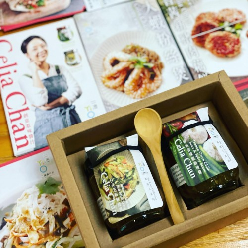 Yi O x Celia《Hunan Green Chili Sour & Spicy Sauce》