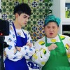 Viu TV  TV Host : Fat Yip (Error) and George