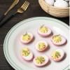 Metropop- Easter Recipe - Beet Devil Eggs